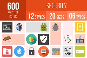 600 Security Icons