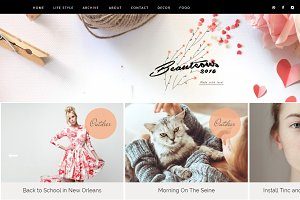 Beauteous Blogger Template