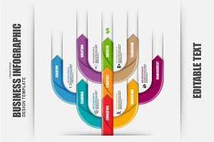 Business Tree Timeline Infographic