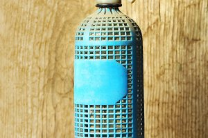 antique soda siphon bottle