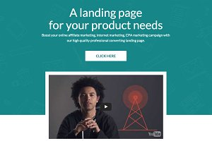 Bootstrap 4 Landing Page