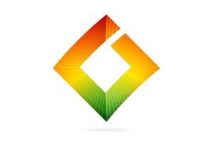 G square letter logo