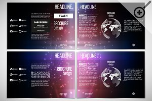 Trifold brochure design templates