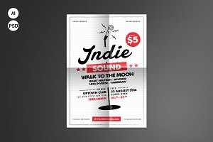 Indie Sound Flyer