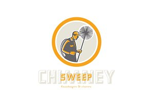 Chimney Sweep Cleaners Logo