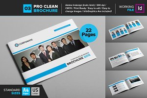 Clean Brochure Template 03