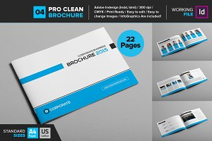 Clean Brochure Template 04