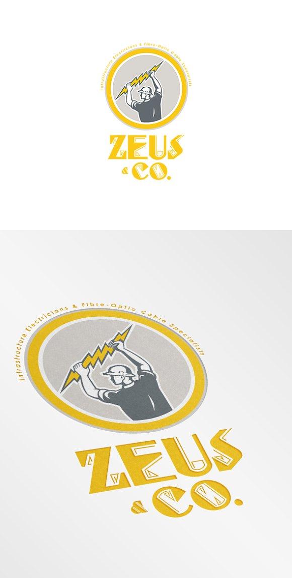 Zeus Co Electricians Logo