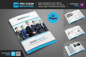 Clean Brochure Template 05