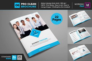 Clean Brochure Template 06