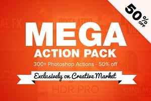 Mega 300+ Action Pack