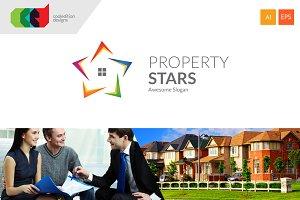 Property Stars - Logo + Free BC