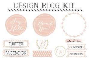 Design Blog Kit with Elements