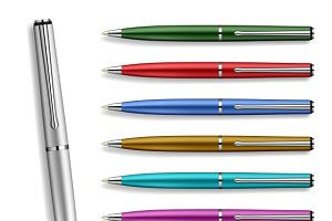 Set Colorfull Pens