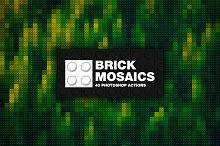 40 Brick Mosaics Actions