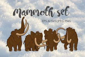Mammoth set
