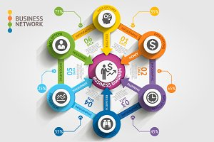 Business Marketing Infographics