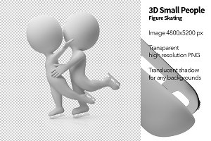 3D Small People - Figure Skating