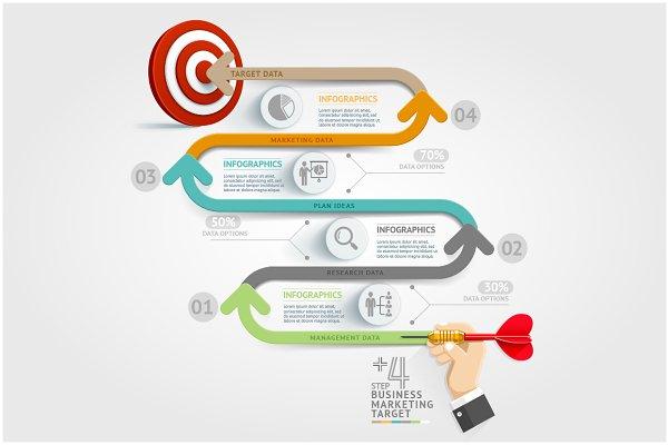Business Target Marketing Dart Idea…