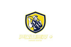 Power Electric Company Logo