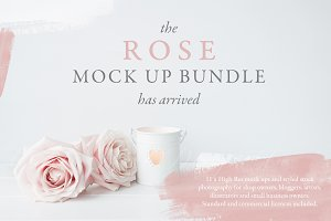 The ROSE mockup & photo Bundle