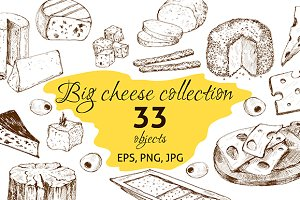 Big cheese collection