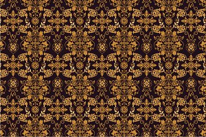 3 Damask Seamless Patterns