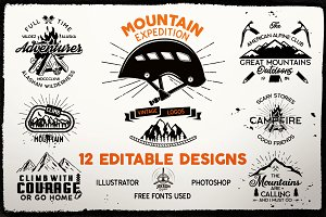 Mountain Expedition Logos | Badges