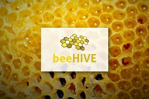 [68% off] BeeHIVE - Logo Design