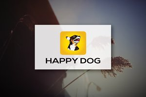 [68% off] Happy Dog - Logo Design