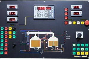 Brewery control display