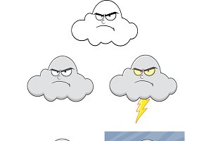 Angry Cloud Collection