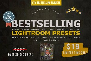 Bestselling Lightroom Presets SALE!!