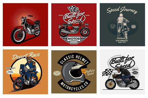 Clic Motorcycle Design Creative Market