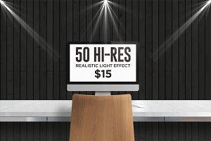 50 HI-RES Realistic Light Effect