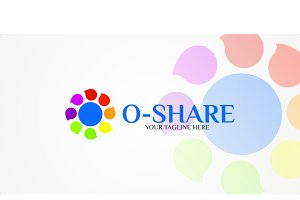 O-Share - Logo Template