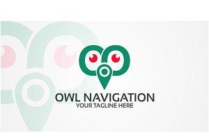 Owl Navigation - Logo Template