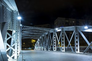 Iron bridge in Murcia III