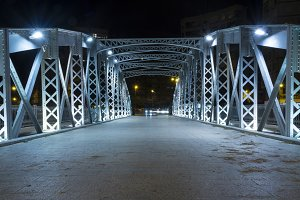 Iron bridge in Murcia V