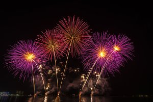 Muticolor fireworks
