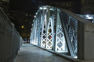 Iron bridge in Murcia VI