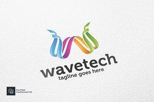Wavetech / Letter W - Logo Template