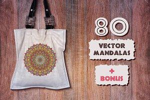 80 Mandalas + BONUS