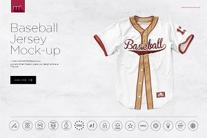 Baseball Jersey Mock-up