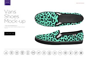 Vans Shoes Mock-up