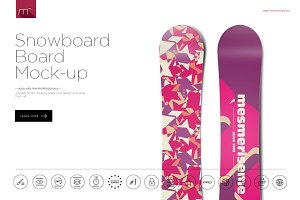 Snowboard Board Mock-up