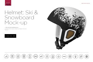 Ski & Snowboard Helmet Mock-up