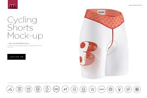 Cycling Shorts Mock-up
