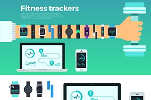 Fitness Trackers. Virtual Coach