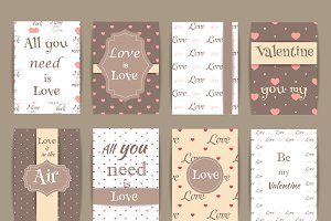 Valentine Greeting cards V.5